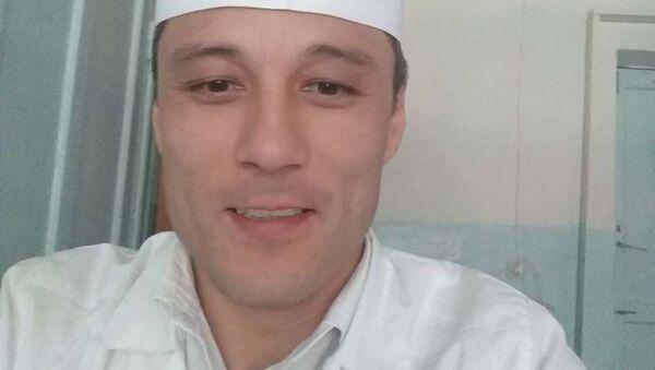Алишер Абдукаримов, замглавврач Джаббор Расуловской болницы - Sputnik Таджикистан