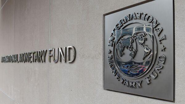 Эмблема Международного валютного фонда, архивное фото - Sputnik Таджикистан