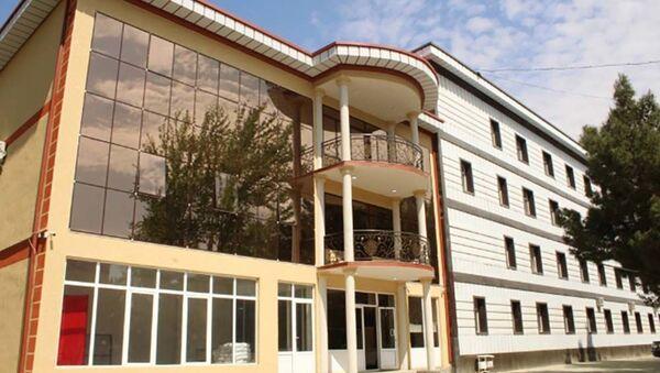 Здание в городе Гулистон - Sputnik Таджикистан