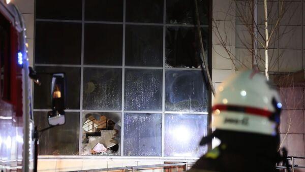 Пожар произошел в доме престарелых в Москве - Sputnik Таджикистан