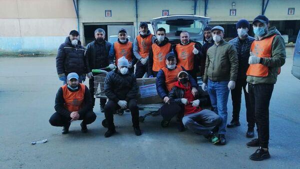 РОО НУР помогает соотечественникам в период пандемии коронавируса - Sputnik Таджикистан
