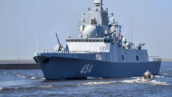 Большойпротиволодочныйкорабль(БПК) АдмиралфлотаСоветскогоСоюзаГоршков - Sputnik Таджикистан