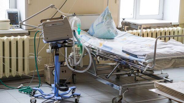 Отделение больницы РЖД-Медицина перепрофилировали для больных с коронавирусом - Sputnik Тоҷикистон