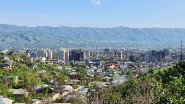Панорама города Душанбе - Sputnik Тоҷикистон