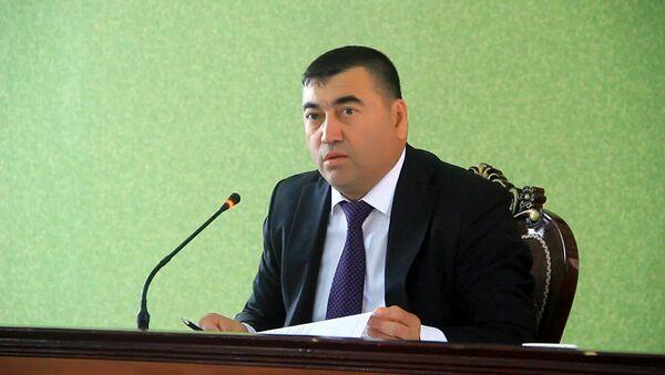 Председатель города Канибадама Зафарбек Давлатзода - Sputnik Тоҷикистон