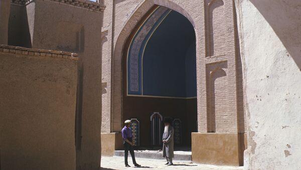 Фрагмент мечети Юсуфа Хамадани (XVI в.) в древнем городе Мерве, Туркменистан - Sputnik Тоҷикистон