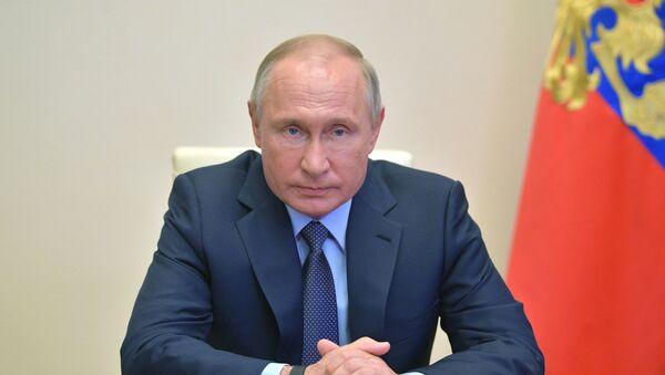 Совещание президента России Владимира Путина с главами регионов  - Sputnik Тоҷикистон
