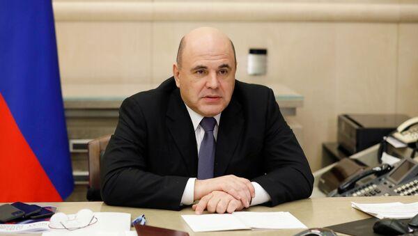 Председатель правительства РФ Михаил Мишустин - Sputnik Таджикистан