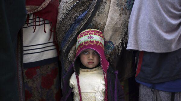 Ребенок боевиков ИГ, задержанных в Афганистане - Sputnik Таджикистан