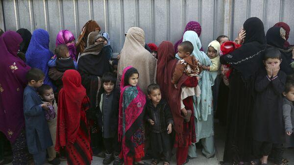 Семьи боевиков ИГ, арестованные или задержанные властями Афганистана в Кабуле - Sputnik Таджикистан