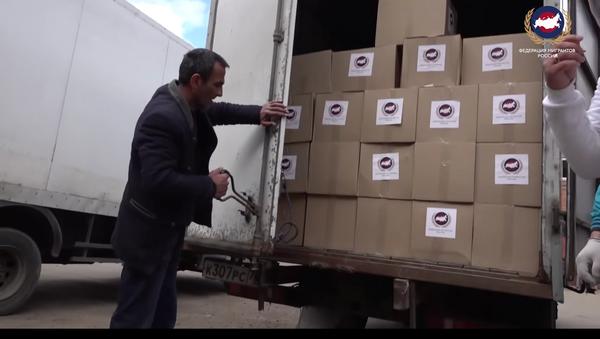 Помощь мигрантам во время кризиса: ФМР доставила в хостелы 600 наборов еды - Sputnik Тоҷикистон