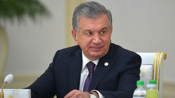 Президент Узбекистана Шавкат Мирзиеев  - Sputnik Тоҷикистон