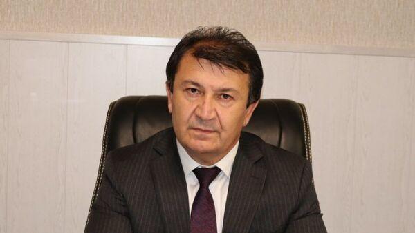 Джамолиддин Абдуллозода, министр здравоохранения и социальной защиты Таджикистан - Sputnik Тоҷикистон