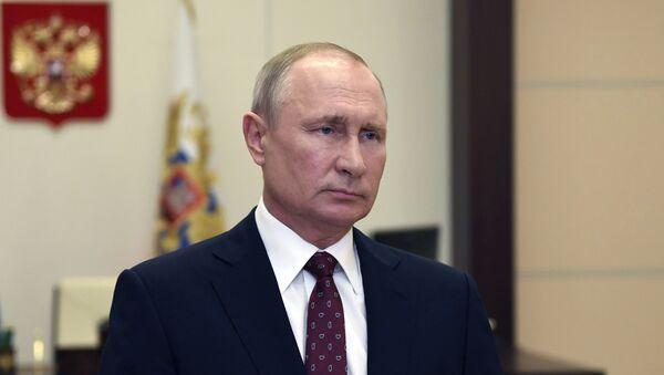Совещание Владимира Путина по коронавирусу - Sputnik Тоҷикистон