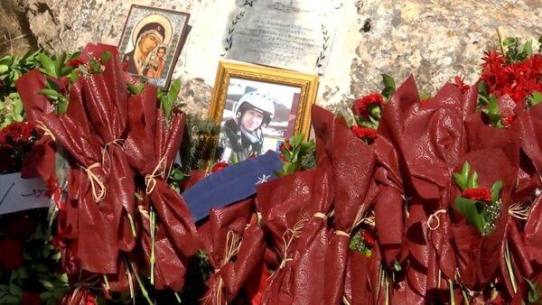 В Сирии появилась памятная табличка на месте гибели летчика Романа Филипова - YouTube - Sputnik Таджикистан