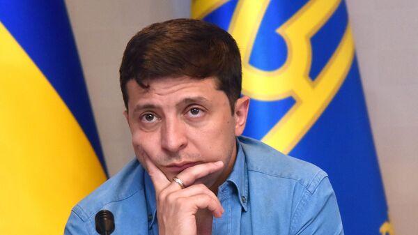 Президент Украины В. Зеленский - Sputnik Таджикистан