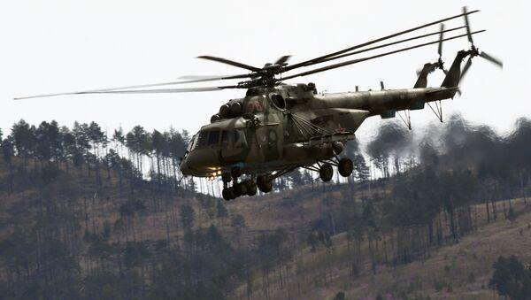 Многоцелевые вертолеты Ми-8  - Sputnik Таджикистан