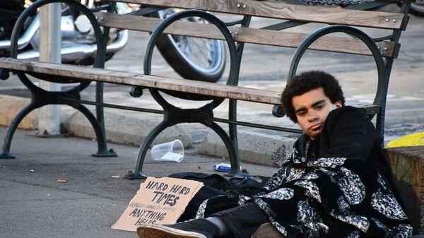 Бездомные в Сан-Франциско - Sputnik Тоҷикистон
