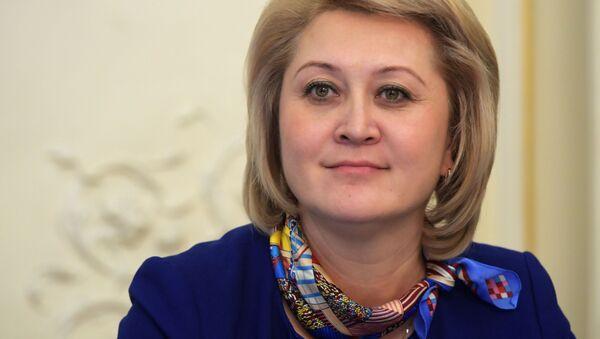 Председатель Комитета Совета Федерации по науке, образованию и культуре Лилия Гумерова - Sputnik Таджикистан