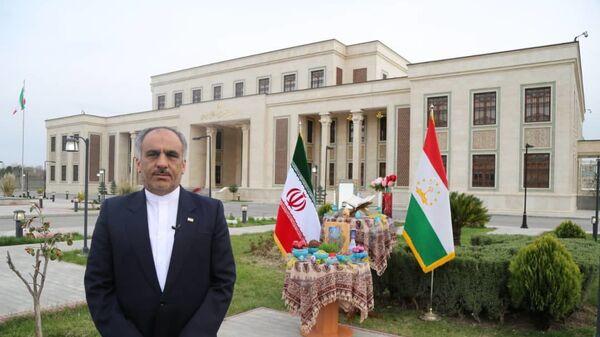 Посол Ирана в Таджикистане Мухаммажтаки Собири - Sputnik Тоҷикистон
