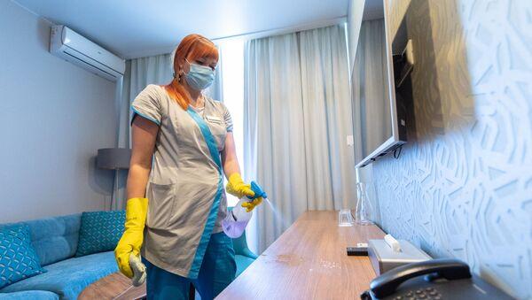 Подготовка к открытию санаториев в Сочи - Sputnik Таджикистан