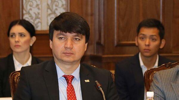 Пресс-секретарь Федерации футбола Таджикистана Фаридун Салиев - Sputnik Тоҷикистон