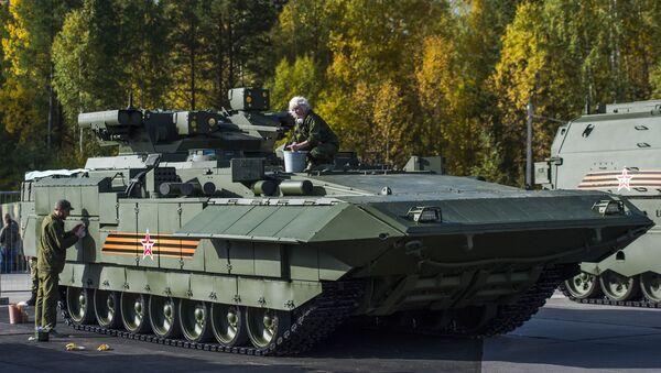 БМП Т-15 Армата  - Sputnik Тоҷикистон