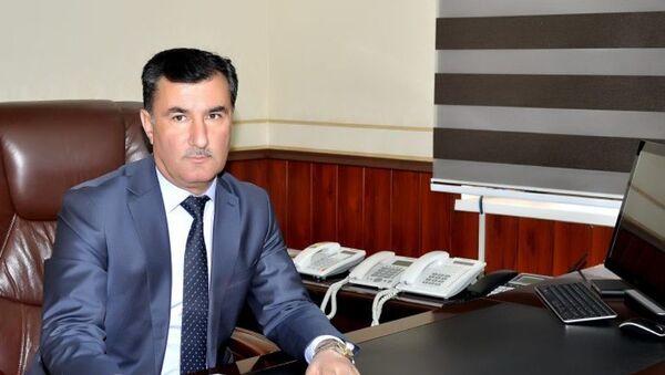 Абдуқодир Вализода, раиси тозатаъйини шаҳри Кӯлоб - Sputnik Тоҷикистон