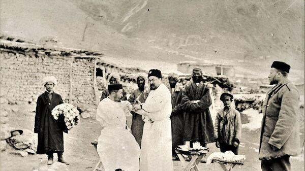 Противочумная экспедиция в Анзоб, архивное фото - Sputnik Таджикистан