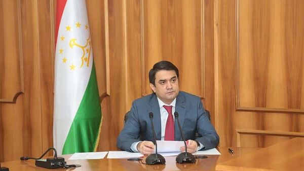 Рустам Эмомали председатель города Душанбе - Sputnik Тоҷикистон