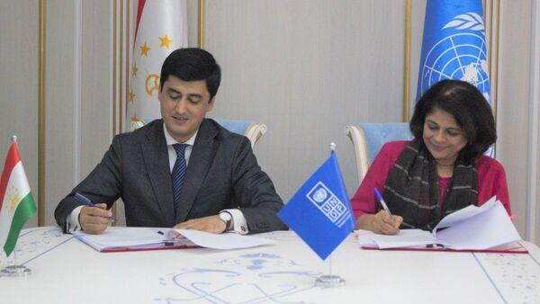Комитет по охране окружающей среды при Правительстве Республики Таджикистан подписали сегодня соглашение о запуске нового проекта - Sputnik Таджикистан