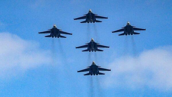 Истребители Су-30СМ, архивное фото - Sputnik Таджикистан