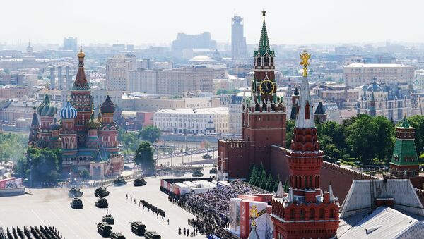 Военный парад в ознаменование 75-летия Победы - Sputnik Тоҷикистон