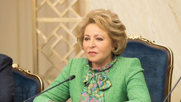 Валентина Матвиенко - Sputnik Таджикистан