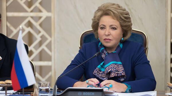 Валентина Ивановна Матвиенко - Sputnik Таджикистан