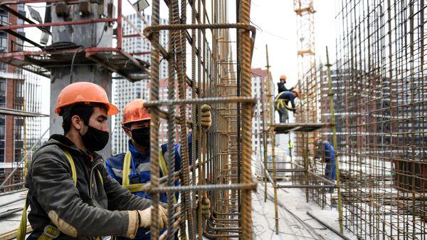 Строительство ЖК Сердце столицы в Москве - Sputnik Таджикистан