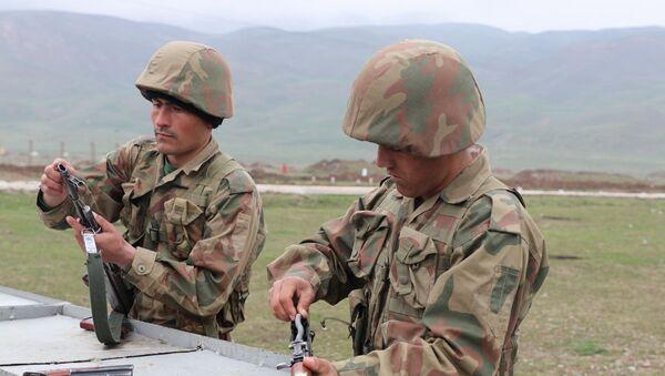 Обучение таджикских военных - Sputnik Таджикистан