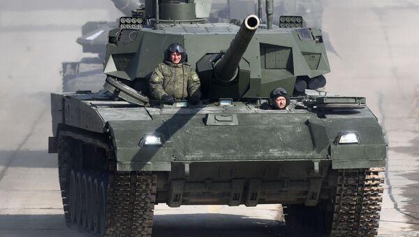 Танк Т-14 Армата  - Sputnik Таджикистан
