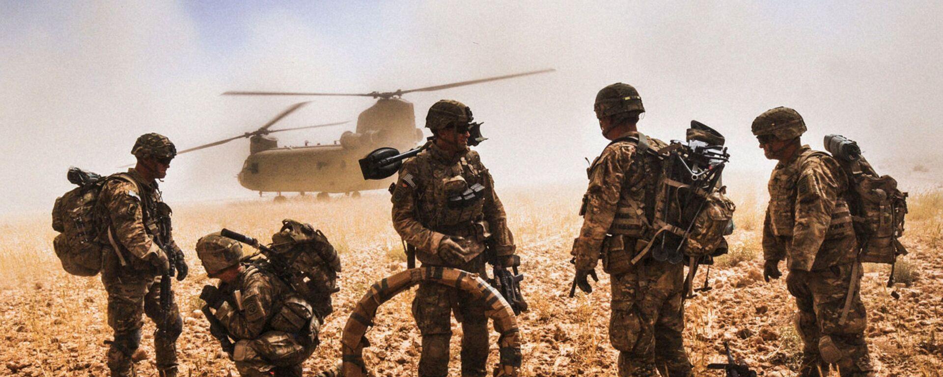 Военнослужащие армии США в Афганистане - Sputnik Таджикистан, 1920, 24.05.2021