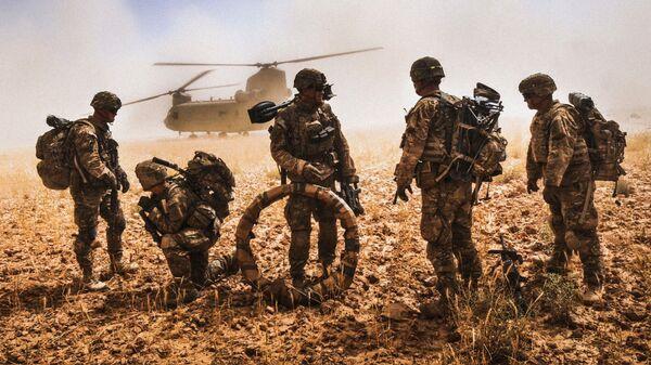 Военнослужащие армии США в Афганистане - Sputnik Таджикистан