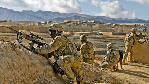 Афганистан - Армия США  - Sputnik Тоҷикистон